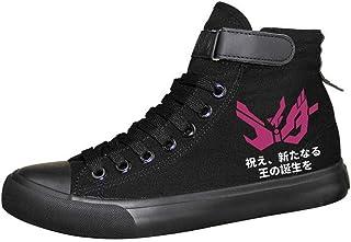 WANHONGYUE Kamen Rider Masked Rider Anime Unisexe Chaussures en Toile à Lacets Baskets de Mode Sneakers Plimsolls