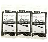 Black Licorice Candy, Bulk 3 Pack, Fat Free, Healthy Old Fashioned Gourmet Licorice Twists, A Must Try Classic Candy Snack, Gluten Free, 1.5 lbs Total