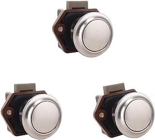 PETSOLA 引き出しロック ドアロック 防錆 キャビネット 食器棚 使いやすい 押しボタンのつまみのデザイン