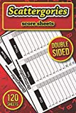 Scattergories Score Sheets: 120 Refill Sheets for Scattergories Game ( 6x9 inch )