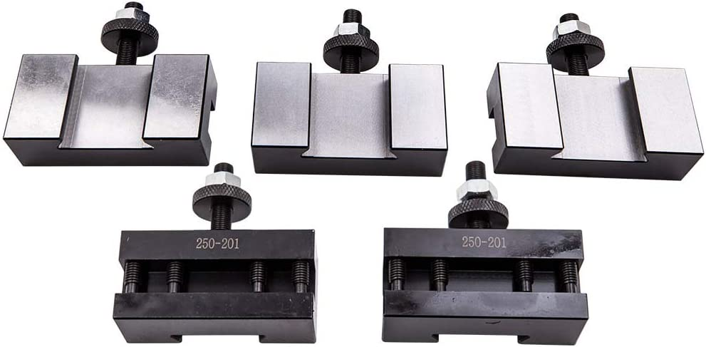 5pcs Facing 70% OFF Outlet Lathe 250-201 Tool Quick Post Change Holder In stock Turnin