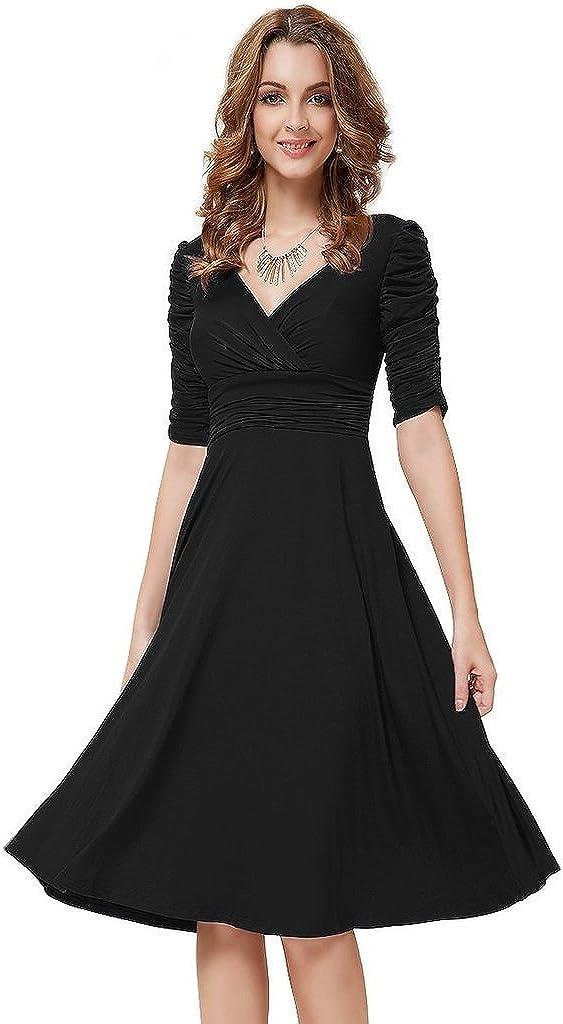 Pure Cherry Women's Backless Hip Package Long Dress Medium Black
