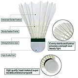 Zoom IMG-1 12 pezzi volani da badminton