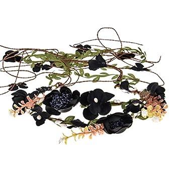 Best black flower crown Reviews