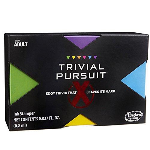 Hasbro B9011 630509475063 Trivial Pursuit X Spiel (Explizit Content – nur für Erwachsene)