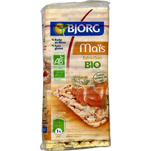 Bjorg Galettes de Maïs Extra Fines Bio 130 g