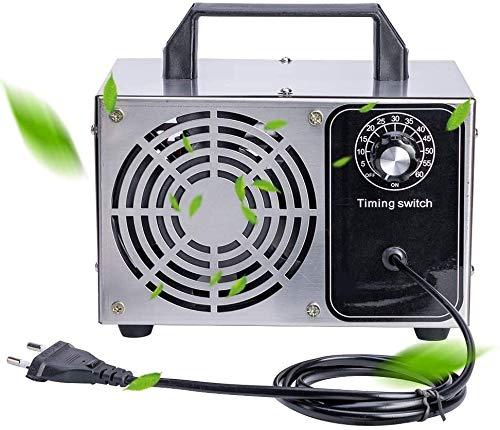 Raxinbang Purificador de Aire 10 G/H Generador De Ozono Ozonizador Purificador De Aire De La Máquina O3 Ozono Generador Desodorante De Desinfección De Inicio Hoteles del Sótano Animales Habitacio