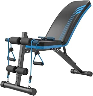 Workout Bench Adjustable, Workout Bench Adjustable Fold Position Dumbbell Ab Multifunction Home Gym Fitness