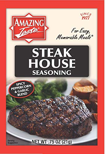 Amazing Taste Steakhouse Seasoning Bundle (10 Packets- .75 oz ea.)