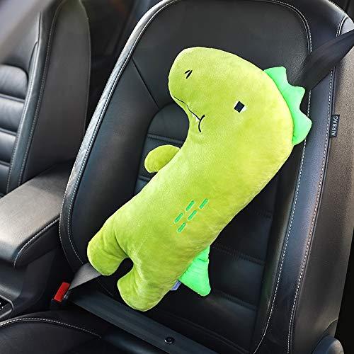 Pegatina de metal 3D para cinturón de seguridad de coche con personalidad creativa con una bonita almohadilla protectora para el hombro de dibujos animados alarga los muebles suaves (color: 4)