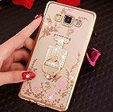 LG G6 G6Pro G6Plus Diamond Ring Movie Stand Case, Shiny
