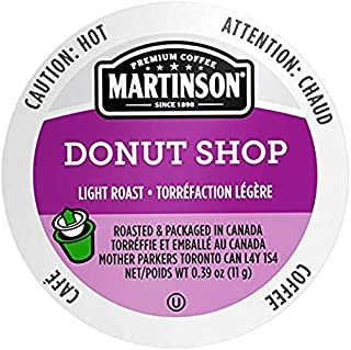 Martinson Single Serve Coffee Capsules, Donut Shop Blend, 96 count