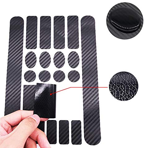 QUUPY 3 Sheets Adhesive Bicyle Frame Protector Sticker Guard Chainstay Kit for Mountain Bike Road Bike