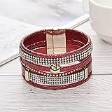 Accessoires für Herren und Damen Mode original Apfel mehrschichtige diamantbesetzte heiße Diamant...