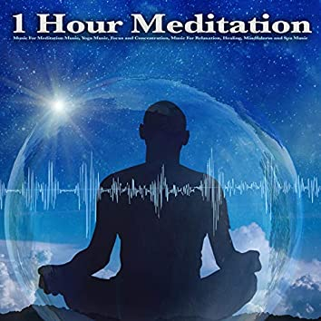 1 Hour Meditation: Music For Meditation Music, Yoga Music, Focus and Concentration, Music For Relaxation, Healing, Mindfulness and Spa Music