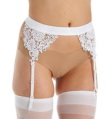 Sexy White Venice Lace Garter Belt Lingerie Accessory