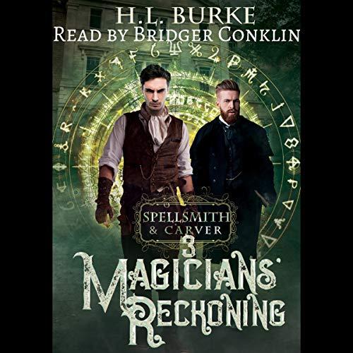 Magicians' Reckoning audiobook cover art