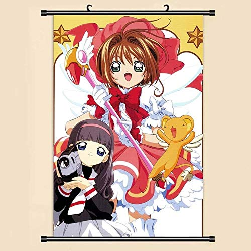eaodz Anime Manga Card Captor Sakura Wall Scroll Painting Picture Wallpaper Stickers Poster Home Room Decor, 26,20x30cm