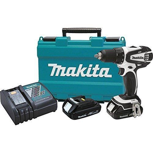 Makita XFD01CW 18V Compact Lithium-Ion Cordless 1/2 Driver-Drill by Makita (Renewed)