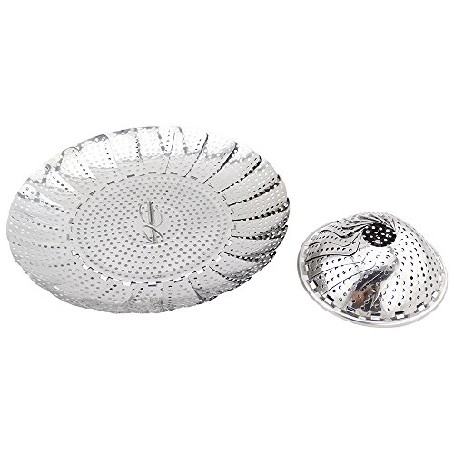 Steamer with basket by exquisite home and kitchen. Available in Large ,Medium and Small .