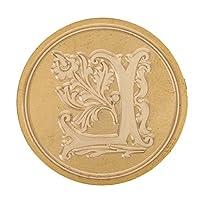 印鑑 シールワックススタンプ シーリングワックス DIY 装飾 木製 ハンドル 全26選択 - L