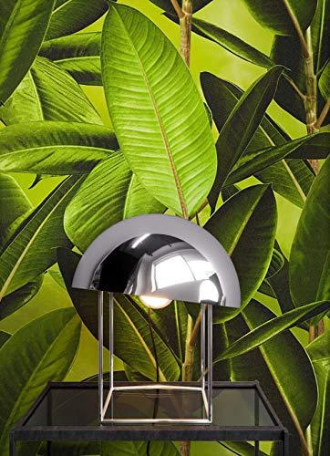 NEWROOM Blumentapete Tapete Grün Blumen Blätter Floral Vliestapete Braun Vlies moderne Design Optik Blumentapete Modern inkl. Tapezier Ratgeber