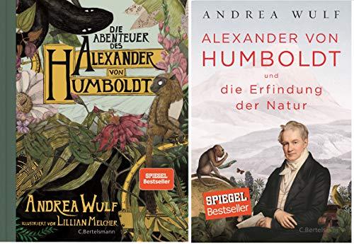 """Geschenkpaket Humboldt: """"Die Abenteuer des Alexander von Humboldt"""" + """"Alexander von Humboldt und die Erfindung der Natur"""" (Hardcover)"""