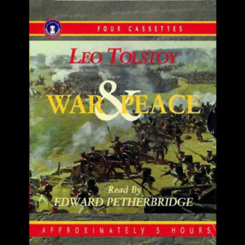War and Peace audiobook cover art