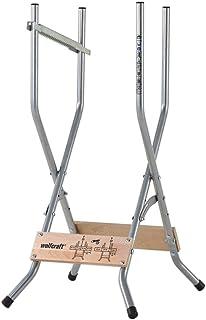 Wolfcraft 5119000 sågbock – hopfällbar/mobil och kompakt såghjälpmedel för hemma och på vägen – inkl. utskjutningsskydd/la...