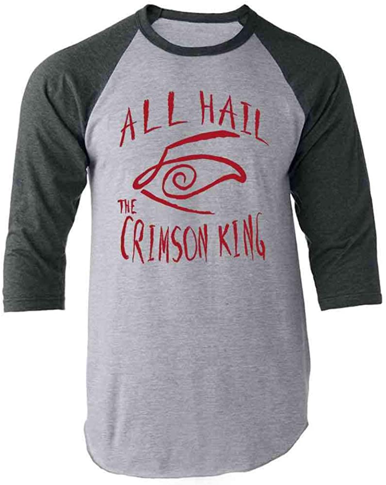 Stephen King Rules Horror Movie Book Merchandise Raglan Baseball Tee Shirt