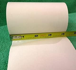 Zebra Receipt Paper, Meets Z-Perform 1000D OEM Standard Weight, Direct Thermal, 2.4 mil, 4