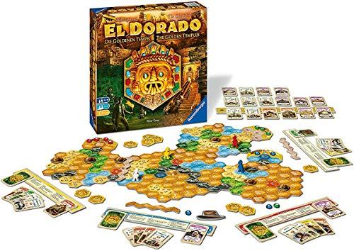 Ravensburger 26129 - El Dorado - zweite Erweiterung, Strategiespiel, Spiel für Erwachsene und Kinder ab 10 Jahren - Taktikspiel für 2-4 Spieler