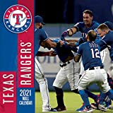 Texas Rangers 2021 12x12 Team Wall Calendar