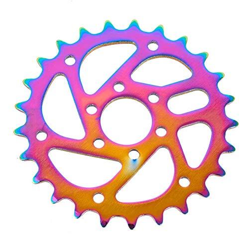 KHE MVP BMX, Oil-Slick Jet-Fuel - V73 - Ruota dentata per catena della bicicletta a 25 denti