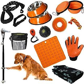 Puppy Starter Kit - 16pc Puppy Supplies & Dog Essentials. Matching New Puppy Accessories . Lots of New Puppy Stuff. Toys, ...