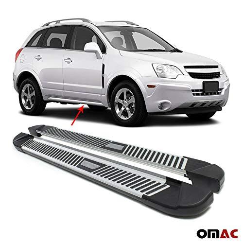 OMAC 1602985 Schwellerrohre Aluminium Trittbretter