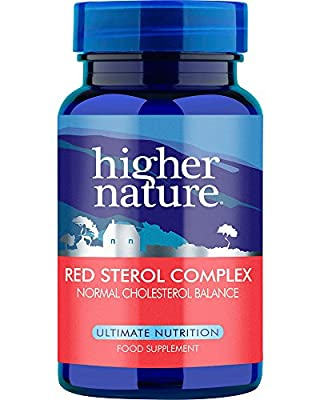 Higher Nature Red Sterol Complex Pack of 30