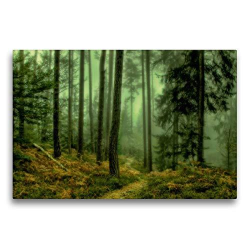 CALVENDO Premium Textil-Leinwand 75 x 50 cm Quer-Format Dämmerlicht, Leinwanddruck von Simone Wunderlich