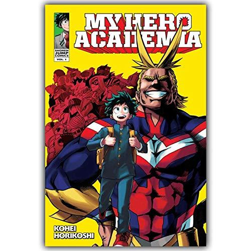 Rompecabezas de 1000 Piezas 50x75cm Personajes de animación de Anime Hero Academy Puzzle de Desafío Cerebral para niños Cerebral Juego de Alta dificultad Regalo para Niño