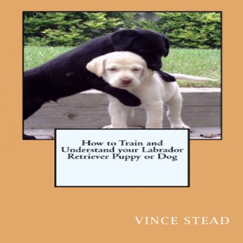 Labrador Retriever Dog Training & Behavior Book audiobook cover art