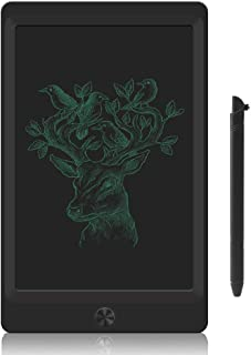 LCD Writing Tablet Board Kit Doodle Sketch Pad Drawing Board for Kids Office Fridge Magnetic Message Boards (Black)