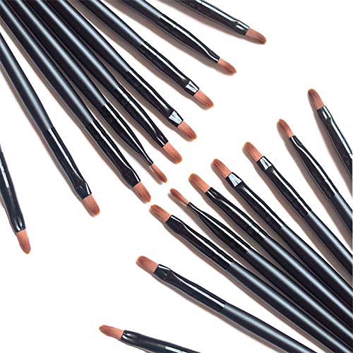 100 Pieces Disposable Lip Brushes Multifunctional Beauty Makeup Brush Lipstick Gloss Eyeshadow...