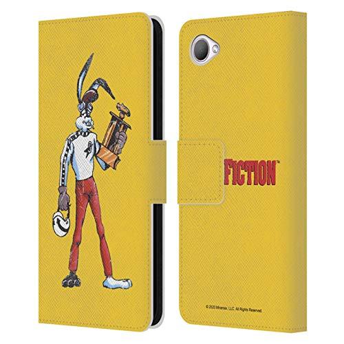 Head Case Designs Licenza Ufficiale Pulp Fiction Jack Rabbit Arte Cover in Pelle a Portafoglio Compatibile con HTC Desire 12
