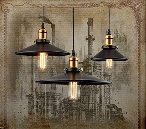 LG Snow Industrial Retro Minimalista Country Bar Restaurante Aluminio Cabeza cepillada lámpara lámpara araña