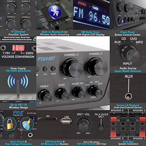 Product Image 4: 500W Karaoke Wireless Bluetooth Amplifier