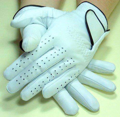 1 Paar Tischfussball Kicker Handschuhe SHOT Leder in Gr. M für Herren rechts und links Tischfussballhandschuh
