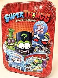 Libro del Coleccionista de Cómics Superthings par  Ediba Europa EON SL