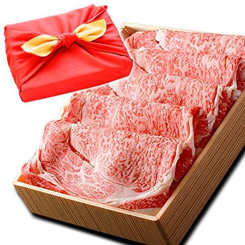 ミートたまや 風呂敷 ギフト 肉 牛肉 A5ランク 和牛 リブロース すき焼き肉 1kg A5等級 しゃぶしゃぶも 黒毛和牛 国産 プレゼントに 【 リブ(すき)ギフト1kg 】