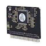 Cuifati Micro SD a IDE Tarjeta de Memoria Micro SD/TF a IDE 44Pin Adaptador Macho