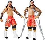 WWE Figure Two-Packs Series No.32 - Jimmy Uso vs. Jey Uso with 2 Crutches